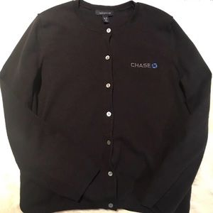 Black chase sweater